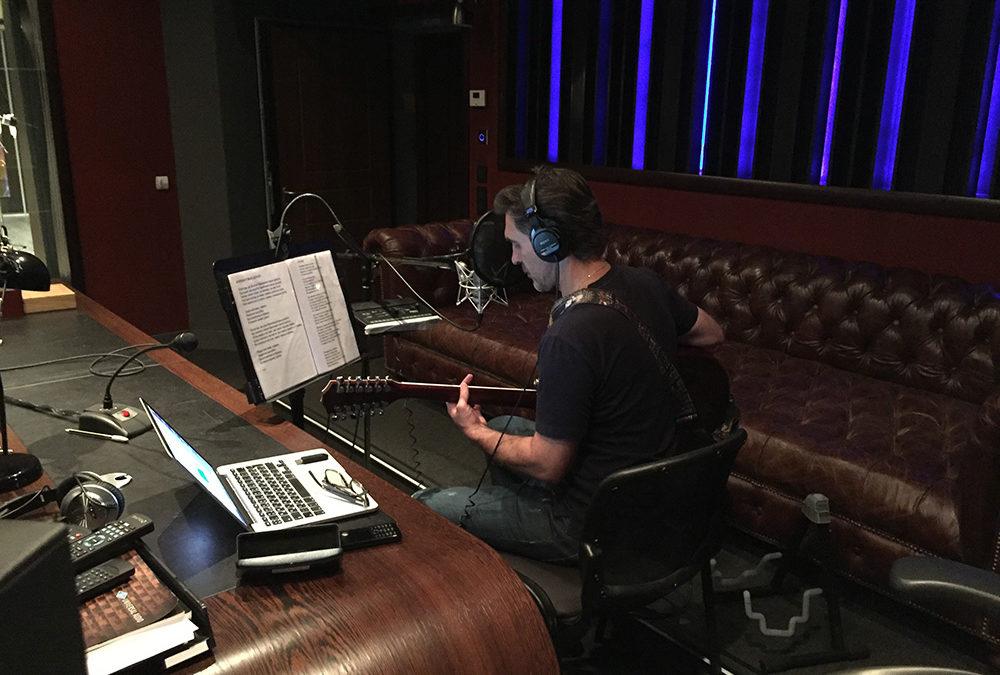 Работа на студии